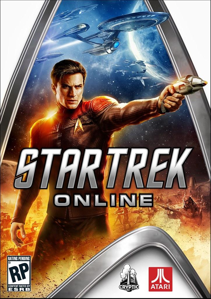 Star Trek Online caja Atari