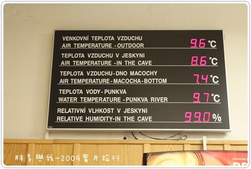 牆上的溫度顯示