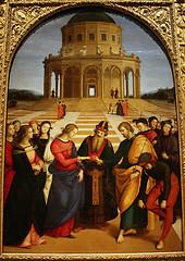 Engagement of the Virgin, Raphael