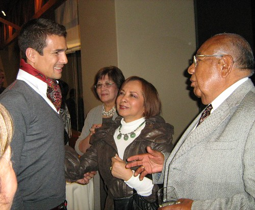 José María Manzanares dialoga con Nazario Villafuerte