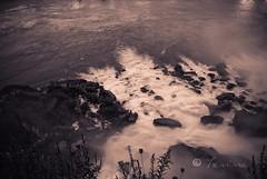 in the stillness of the night* (*yemima*) Tags: longexposure usa canada water sepia niagarafalls portfolio