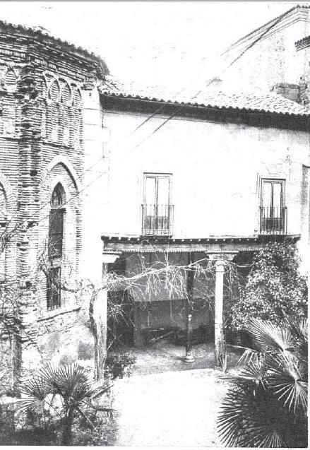 Toledo, Convento de Santa Fe, Abside, 1935 Foto Rodríguez