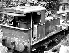 Hall and Co 11 Sentinel 6833 Coulsdon Quarry 30 Aug 1955 (pondhopper1) Tags: blackandwhite white black industrial steam railways uksteam
