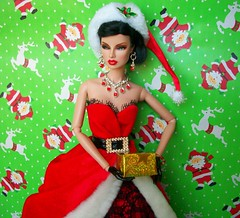 Have Yourself A Merry Little X'mas !!! (napudollworld) Tags: santa christmas new fashion happy mr year barbie merry claus mrs royalty
