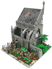 Dissolution of a monastery 1536 (SlyOwl) Tags: castle king lego monk henry monastery viii 1536
