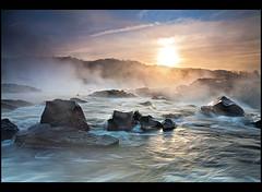 Sunrise at the Great Falls National Park, VA (Artem Goncharuk) Tags: park color sunrise river great smooth falls national va potomac virginial virginiausagreatfallsnationalpark