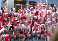 2009 Santa Speedo Run