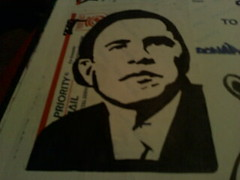 ZONAR-OBAMA (frank_760) Tags: black graffiti stencil sticker mail slap graff obama zonar