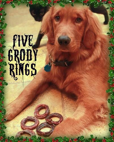 5 GRODY RIIIIINGS!