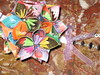 Close-up #1:  Rainbow Flower Kusudama