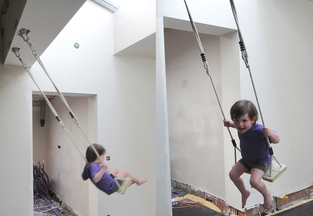 The living room swing