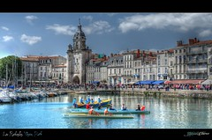 Vieux Port et Grosse Horloge HDR- La Rochelle (17) (Thibosco17) Tags: street blue panorama sun paris france beach port photoshop landscape soleil boat exposure niceshot tour explore exposition 17 larochelle bateau oldport plage hdr lr villefrance vieuxport chaude charentemaritime frenchcity frenchlandscape francelandscape grossehorloge larochelleport francecity boatfrance tourlanterne larochellevieuxport mygearandme blinkagain musictomyeyeslevel1 tourchaine rememberthatmomentlevel1