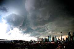 Incoming (Spamily) Tags: city toronto storm rain topv111 skyline clouds topv333 2011 xeswx