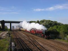LMS 8P 4-6-2 Bennerley 2005 (Rob.S.) Tags: other rail marker thumbnail railways steamlocos ilkestonarea lmscoronation