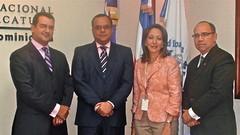 Román Jáquez, Alejandro Moscoso, Gervasia Valenzuela y Jacinto Castillo