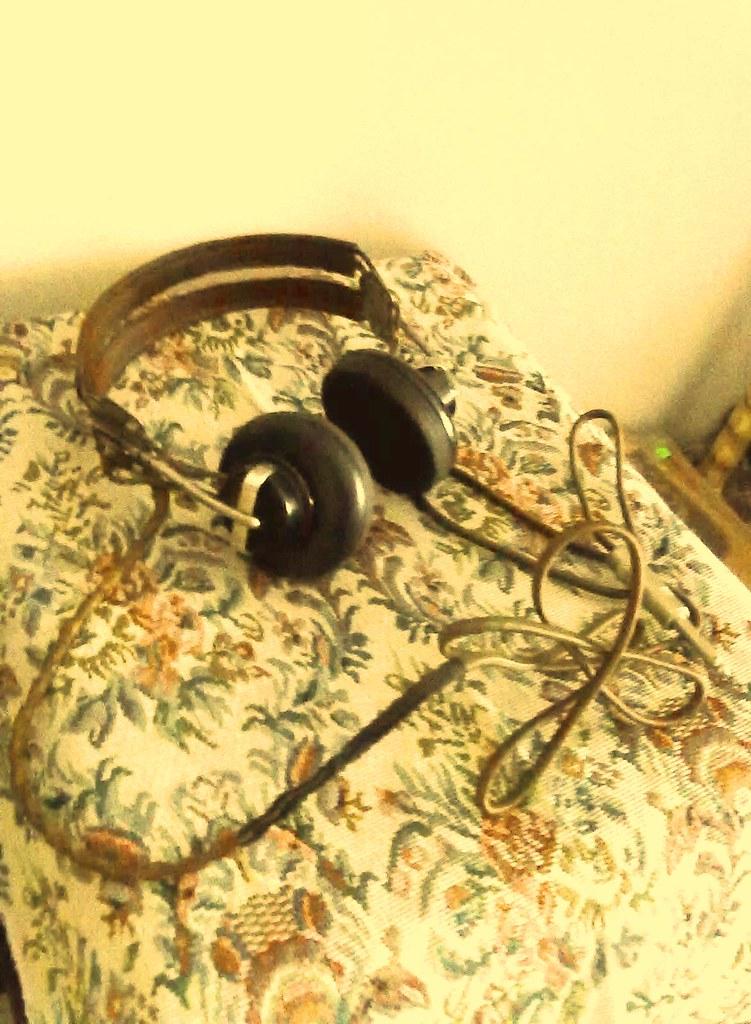 1930s Wireless/Radio set Headphone