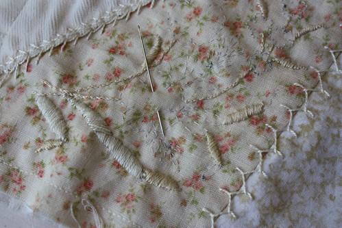 basted stitching pattern