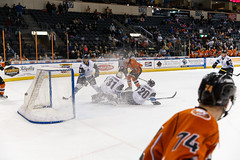 "Missouri Mavericks vs. Wichita Thunder, February 7, 2017, Silverstein Eye Centers Arena, Independence, Missouri.  Photo: John Howe / Howe Creative Photography • <a style=""font-size:0.8em;"" href=""http://www.flickr.com/photos/134016632@N02/31959644454/"" target=""_blank"">View on Flickr</a>"
