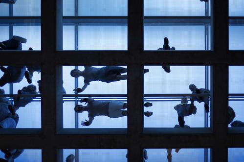 glass ceiling/glass floor - fun, fun, fun