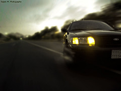 -SPEED- (Rayan M.) Tags: ford car sport speed action fast victoria m american freeze saudi arabia crown 2009 speeding automibile rayan