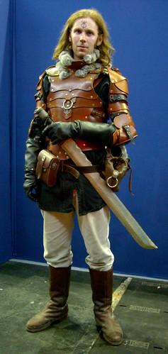 Medieval fantasy warrior