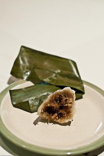 Ya Chi Buah (Literally, Grated Coconut Dumpling)