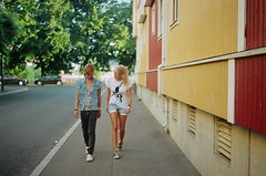 (ole thomas) Tags: boy summer film girl oslo analogue 5preview