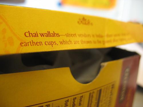 Chai Wallah definition