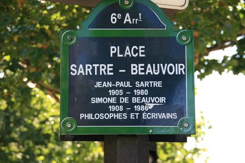 Place Sartre-Beauvoir