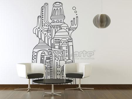 Vinilos de autor para decorar paredes