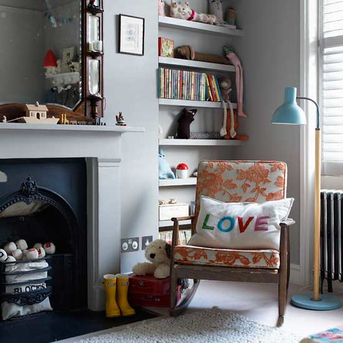 Kids furniture - bookcase and rack toys