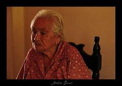 Juventud que se ha ido... (Dalia Ines) Tags: old grandma portrait people woman sonora lady mexico mujer maria abuela nana anciana viejita edad vejez eldery