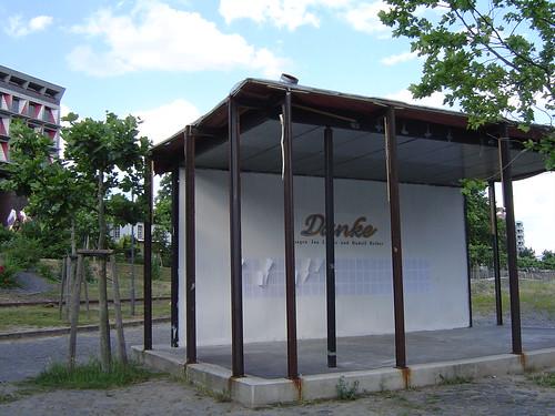 Pavillon am Main Kunstort von Dirk Paschke 2003