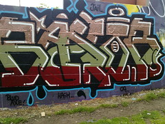 john baxter (pranged) Tags: pool rose swimming graffiti greg 26 leeds bank crew kens em ep bsa kus 2061 tsm tfa phuck lank phibs thk