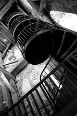 Escalier (129 marches...) (Kopt.) Tags: bretagne glise escalier fougres clocher saintlonard escaliercolimaon