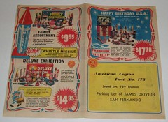 1976 Freedom Fireworks brochure