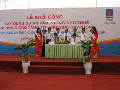 55 millions USD to built TD Lakeside Haiphong