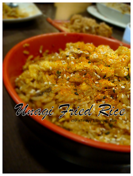 Sunnybank: Unagi Fried Rice