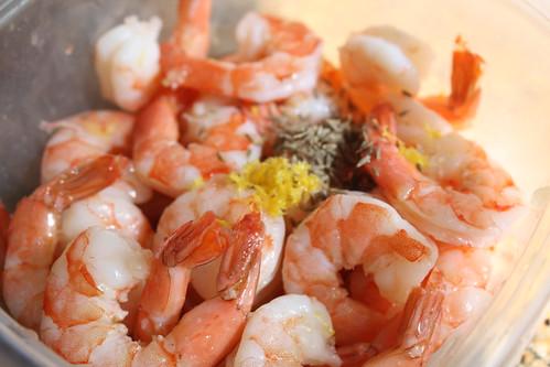 Marinating Shrimp