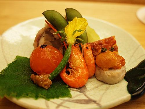 Roan Kikunoi Seafood