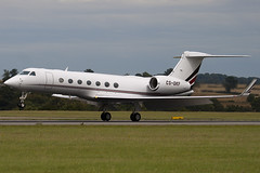 CS-DKF - Netjets Europe - Gulfstream Aerospace G-V-SP Gulfsteam G550 - Luton - 090820 - Steven Gray - IMG_9323