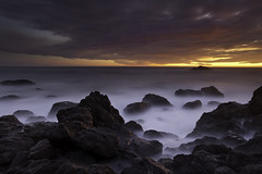 (maxxsmart) Tags: ocean california longexposure sunset sea summer sky seascape water clouds canon landscape rocks lee sonomacounty 1740f4l carmetbeach 5dmarkii leendgrad sonomastatepark