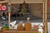 Tutto pronto per la festa (sabrinac78) Tags: people scale colours gente riposo sicily lampara festa colori atmosfera sicilia giochi passio bancarella palloncini bicicletta siciliani scalinata paese sagrato gesti seduti ristoro sicilianità struscio sacccio