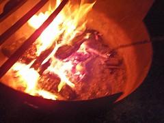 le marshmallow au feu