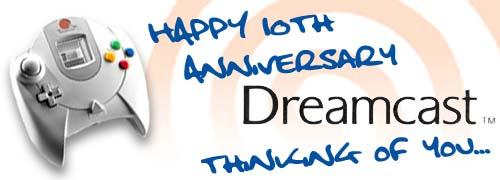 Happy 10th Anniversary, Dreamcast!