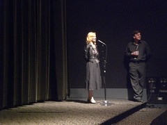 Q& Session opening night with Jennifer M. Kroot