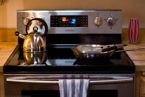 "Samsung NE58F9500SS 30"" Slide-In Electric Range With 5.8 CuFt Self ..."