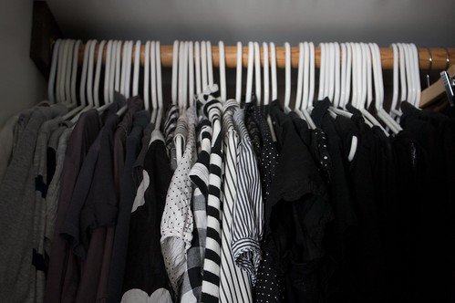 gray, black & white patterns, black
