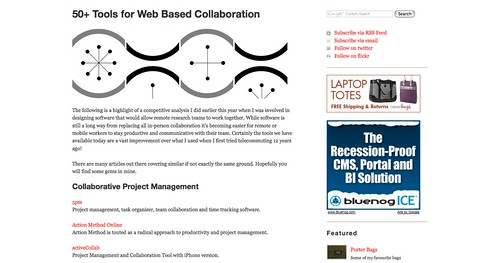50+ Tools for Web Based Collaboration - Popwuping_1253991291595