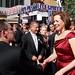 PFLAG's Jody Huckaby says Hi to Sigourney Weaver